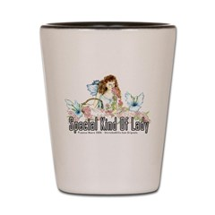 Special Lady Love Shot Glass