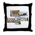 ABH Theodore Roosevelt National Park Throw Pillow