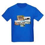 ABH Theodore Roosevelt National Park Kids Dark T-S