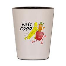 Fast Food Shot Glass
