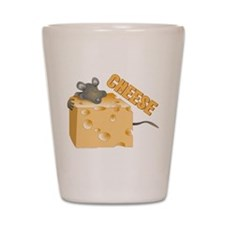 Mouse 'n Cheese Shot Glass