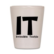 Invincible Techie Shot Glass