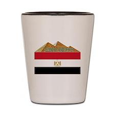 Free Egypt Flag Shot Glass