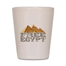 Free Egypt Shot Glass