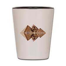 Pyramids Of Peace Shot Glass
