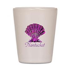 Nantucket Scallop Shell Shot Glass