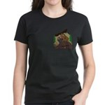 Moose humor Women's Dark T-Shirt
