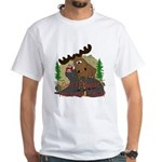 Moose humor White T-Shirt