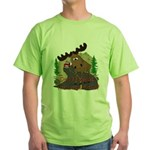 Moose humor Green T-Shirt