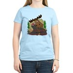 Moose humor Women's Light T-Shirt