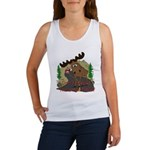 Moose humor Women's Tank Top