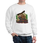 Moose humor Sweatshirt