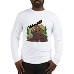 Moose humor Long Sleeve T-Shirt