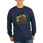 Moose humor Long Sleeve Dark T-Shirt
