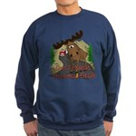 Moose humor Sweatshirt (dark)