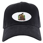 Moose humor Black Cap