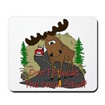 Moose humor Mousepad
