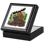 Moose humor Keepsake Box