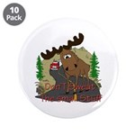 "Moose humor 3.5"" Button (10 pack)"