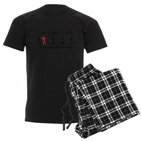 Fantasy Marching Band Men's Dark Pajamas