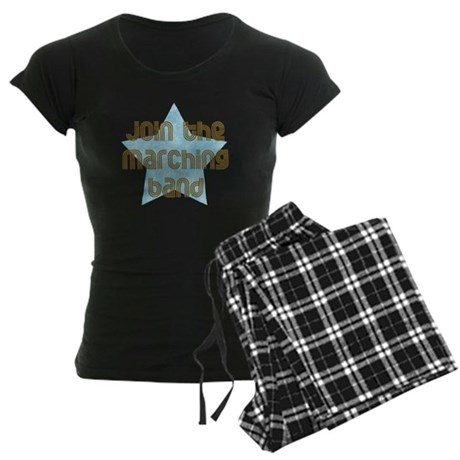 Join the Marching Band Women's Dark Pajamas