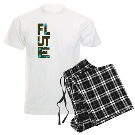 Asymmetrical Flute Men's Light Pajamas