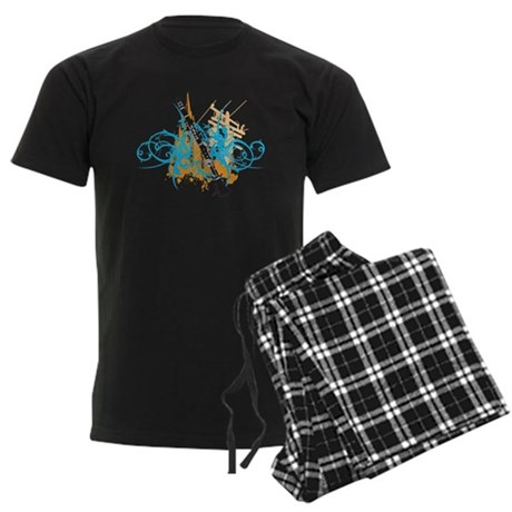 Urban Clarinet Men's Dark Pajamas