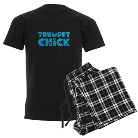 Trumpet Chick Men's Dark Pajamas
