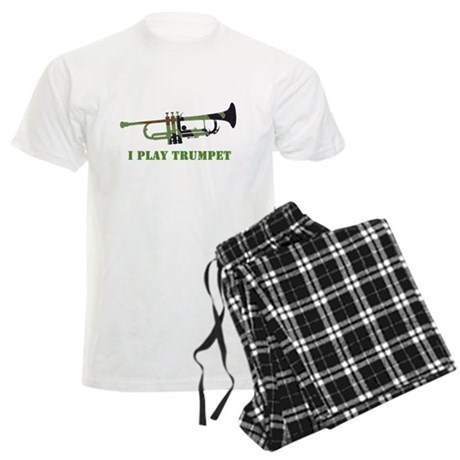 Camo Trumpet Men's Light Pajamas