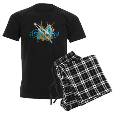 Urban Trombone Men's Dark Pajamas