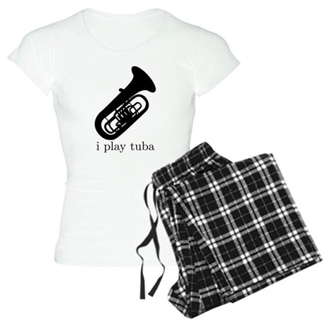 I Play Tuba Women's Light Pajamas