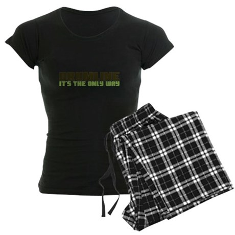 Drumline Women's Dark Pajamas