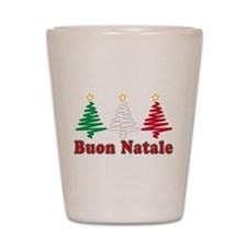 Buon natale Shot Glass
