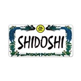 Shidoshi License Plate