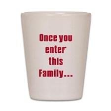 Soprano family Shot Glass