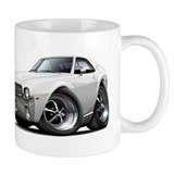 1968-69 AMX White Car Mug
