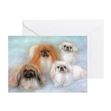 PRNI Pekingese Rescue Greeting Cards (Pk of 10)