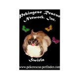 PRNI Pekingese Rescue Rectangle Magnet (10 pack)