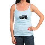 1968-69 AMX Black-White Car Ladies Top