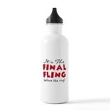 Final Fling Bachelorette Part Water Bottle