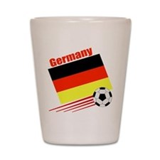 Germany Soccer Team Shot Glass