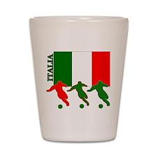 Italia Soccer Shot Glass
