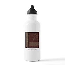 Abstract Digital Art Sports Water Bottle