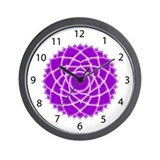Seventh Chakra (Crown Chakra) Wall Clock