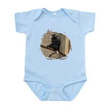 Lion-tailed macaque Infant Bodysuit