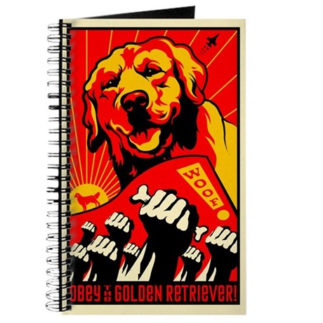 Golden Retriever World Domination Journal