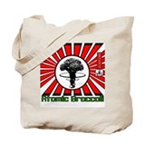 Robot King Atomic Broccoli Tote Bag