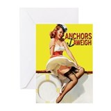 Anchor greeting cards Greeting Cards (10 Pack)