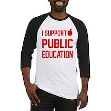 Public Education: Baseball Jersey