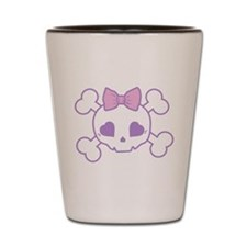Girlie Goth Shot Glass